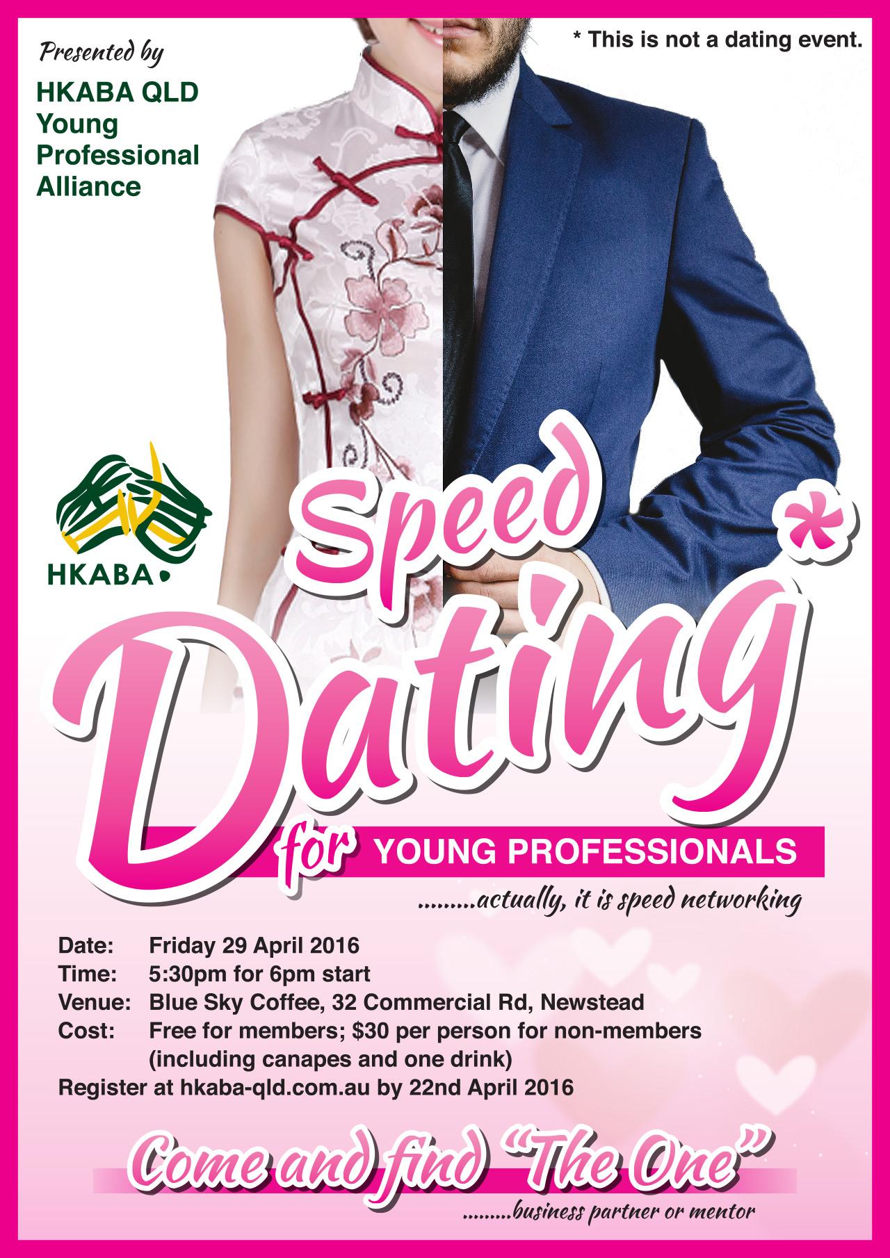 RITA: Speed dating advertisement